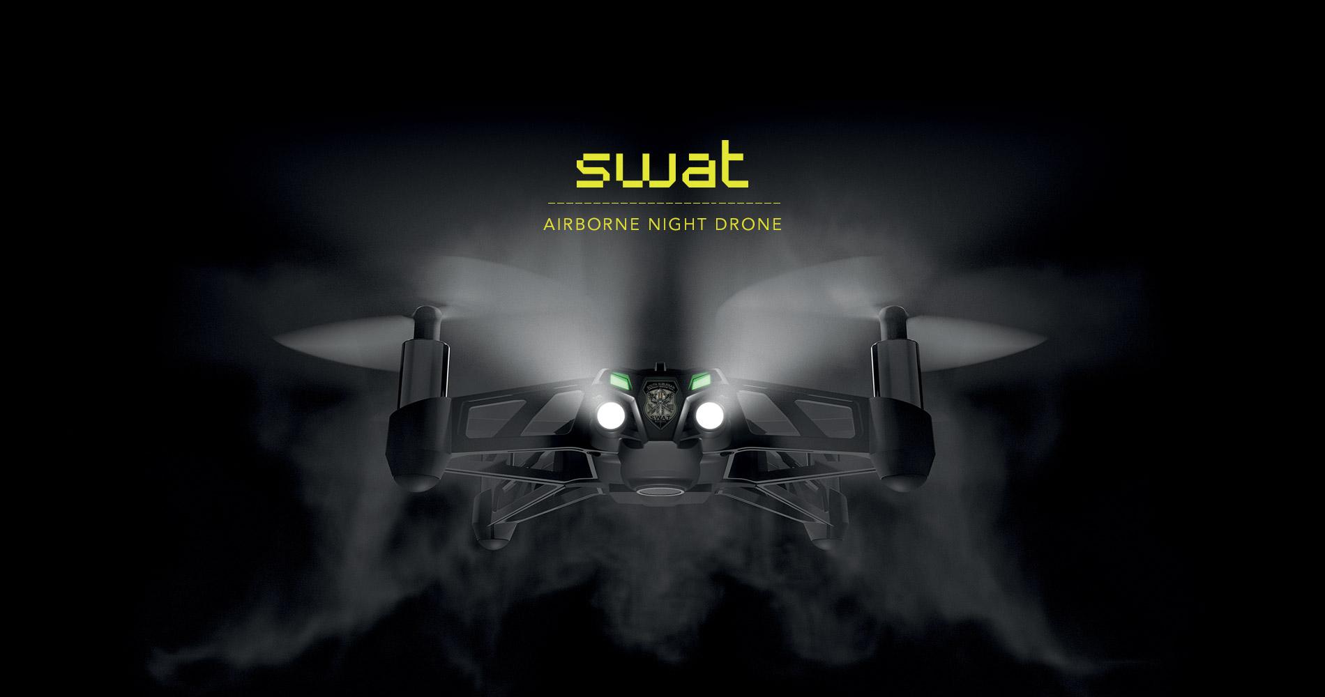 Parrot Airborne Night Drone Swat en droneprix.es