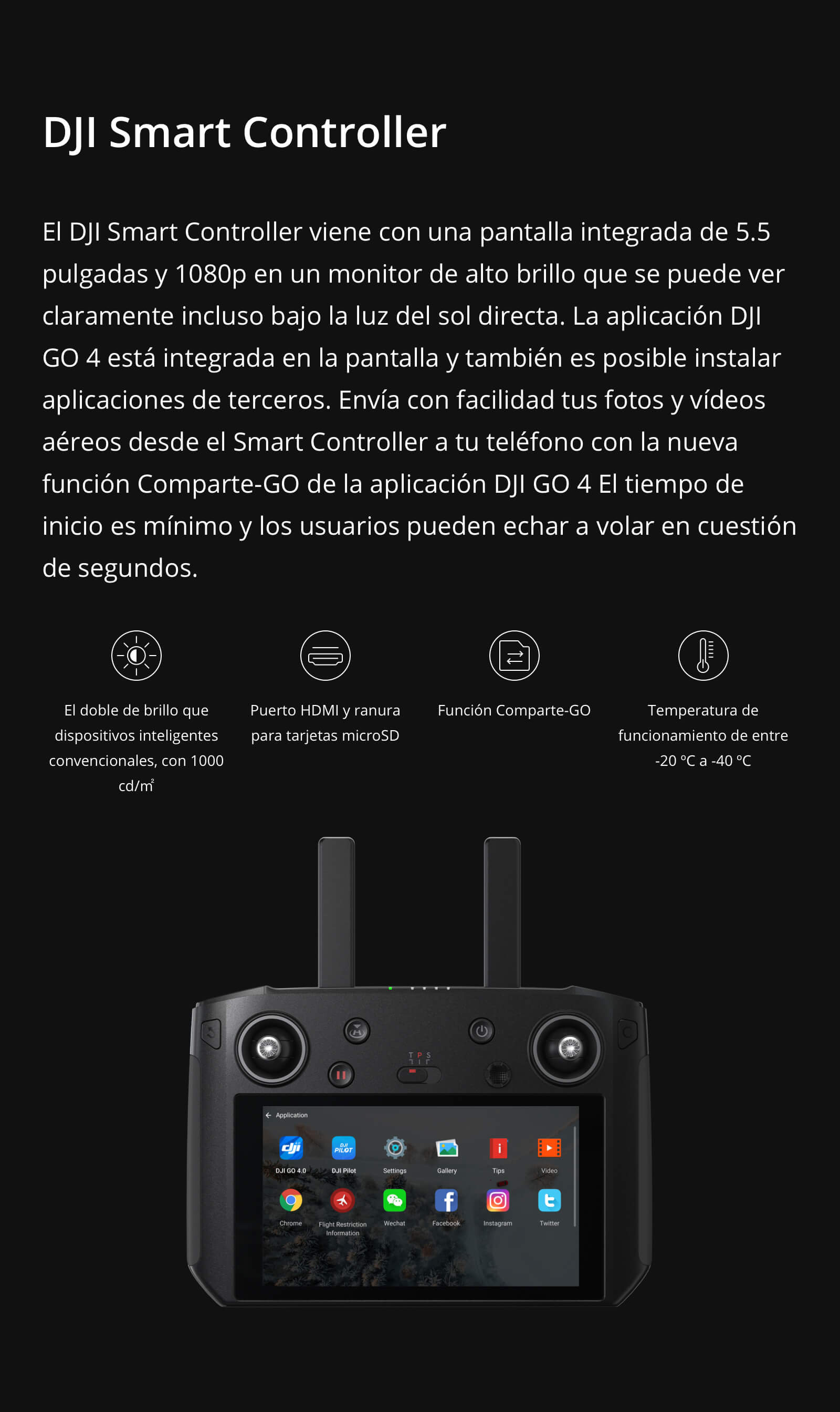 DJI MAVIC 2 ZOOM CON SMART COTROLLER