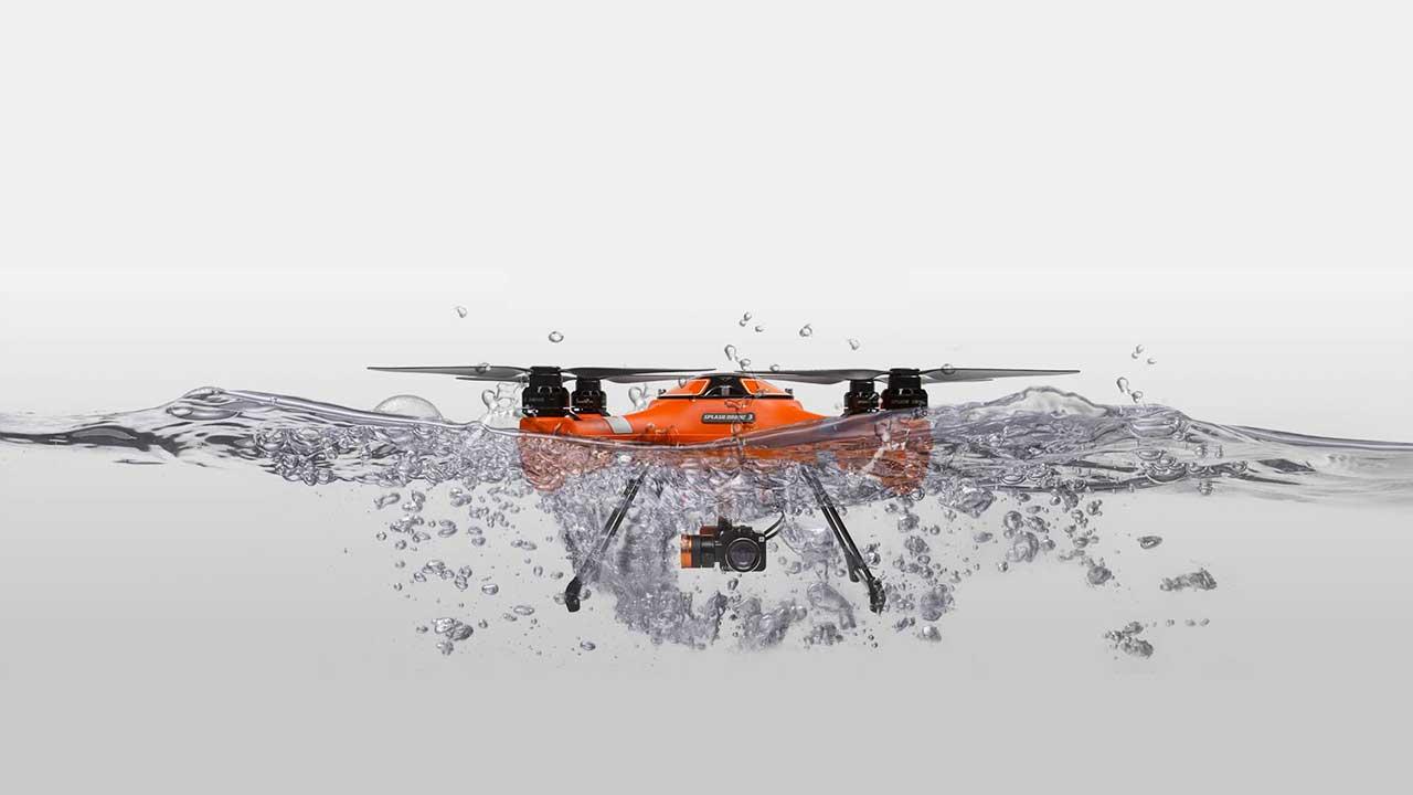 SPLASH DRONE 2 - AUTO VERSION