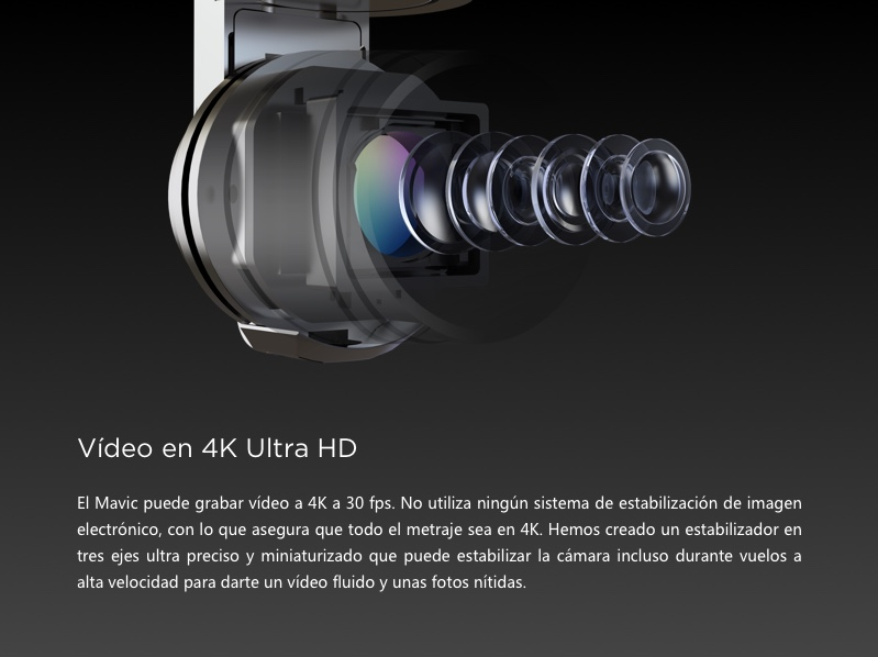 DJI MAVIC PRO - VIDEO EN UHD 4K