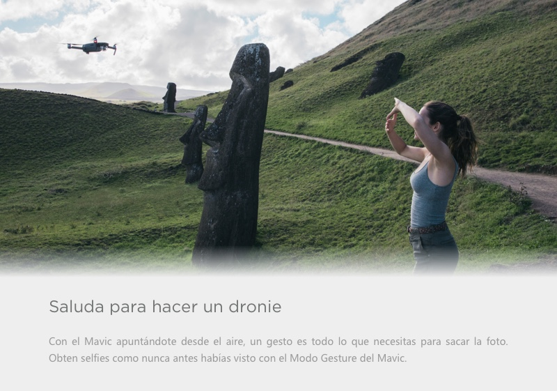 DJI MAVIC PRO - DRONIE -SELFIES