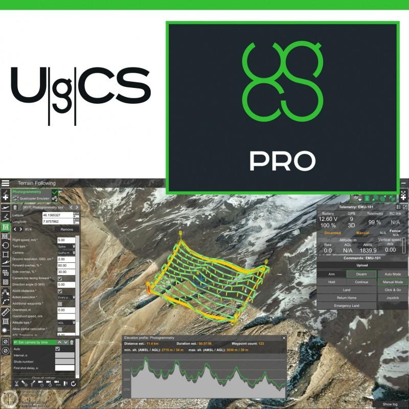 UgCS Pro Licencia Perpetua