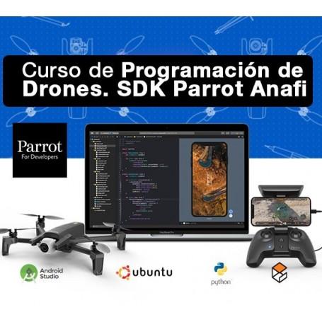 Curso de Programación de Drones. Introducción al SDK de Parrot Anafi