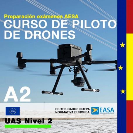 CURSO DE PILOTO DE DRONES A2 NIVEL 2 - UE UAS OPEN