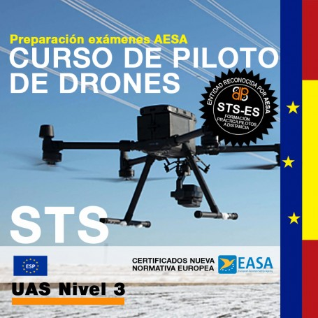 CURSO DE PILOTO DE DRONES STS - CATEGORIA ESPECÍFICA