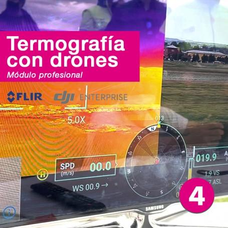 Curso de termografía con drones