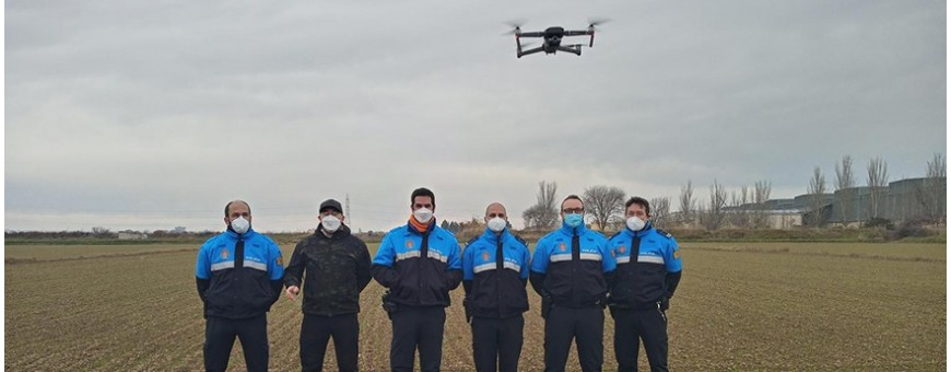 Entrenamiento práctico para pilotos de drones