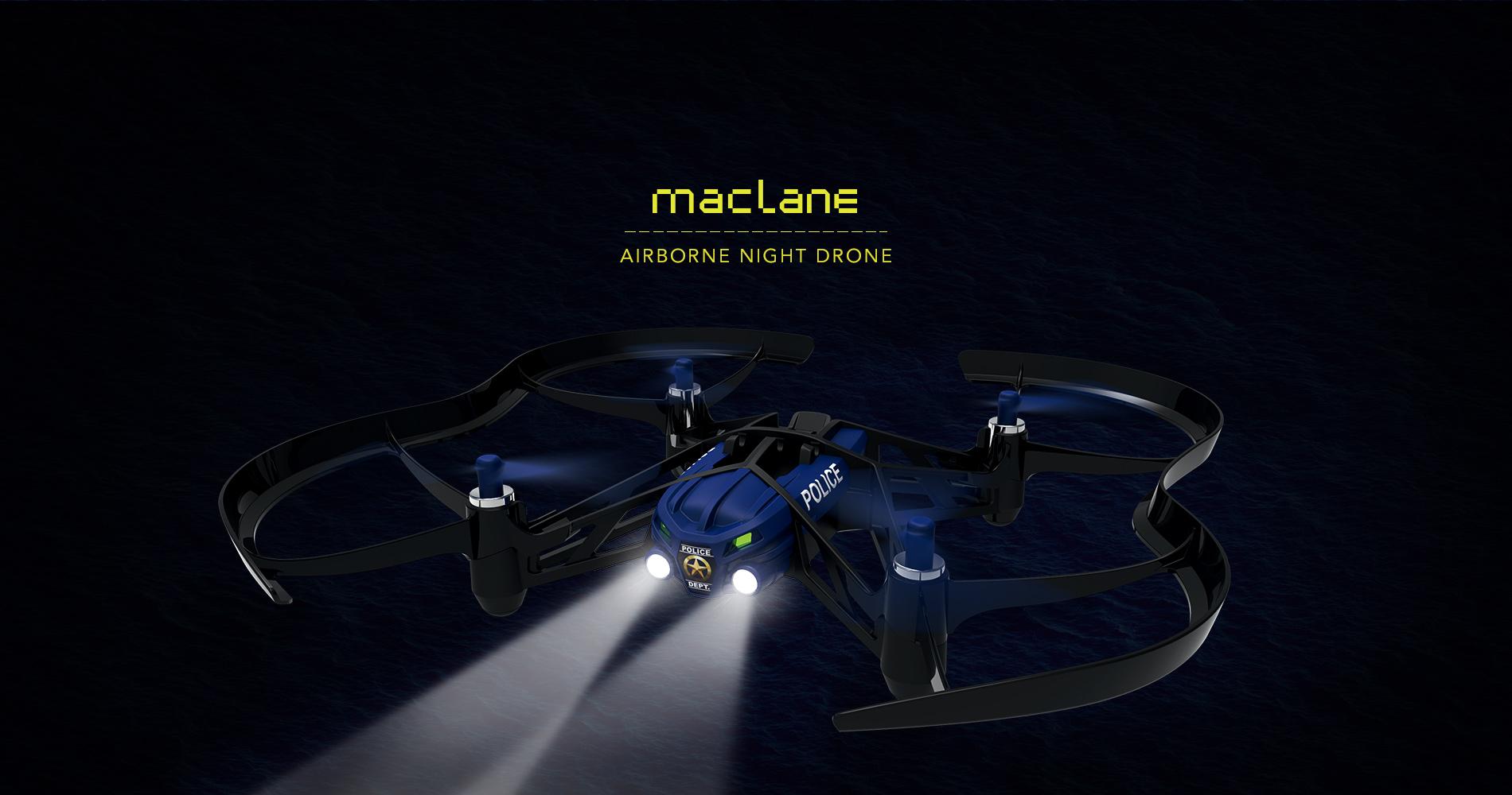 Parrot Airborne Night Drone Maclane en droneprix.es