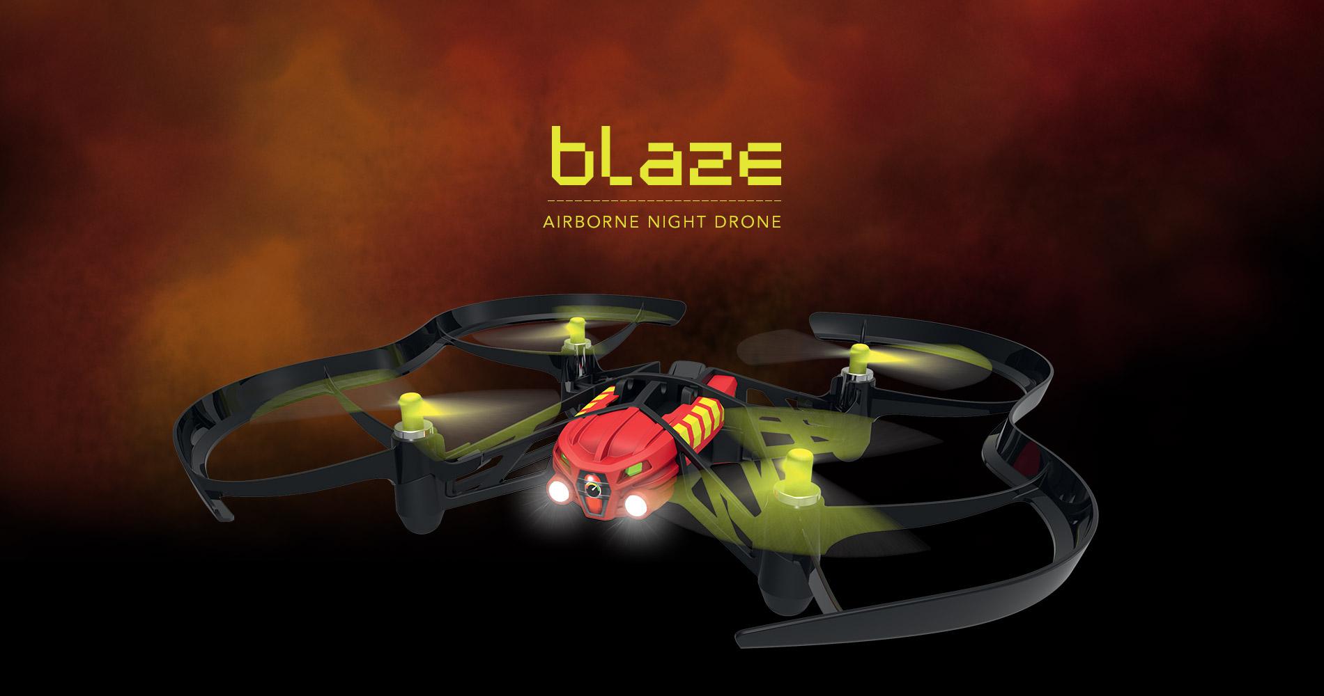 Parrot Airborne Night Drone Blaze en droneprix.es