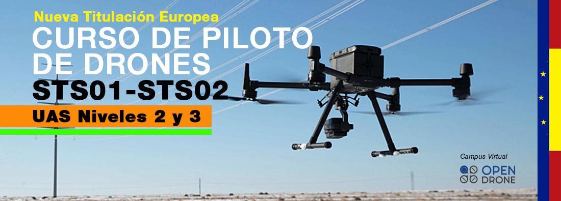 Curso Drones Nivel 2 y 3