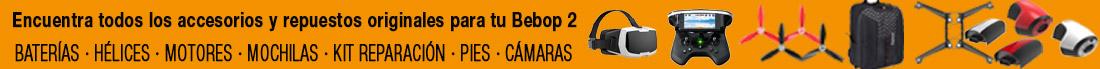 Accesorios Parrot Bebop2